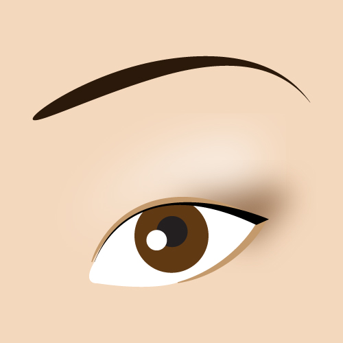 Красивый макияж для азиатских глаз на каждый день