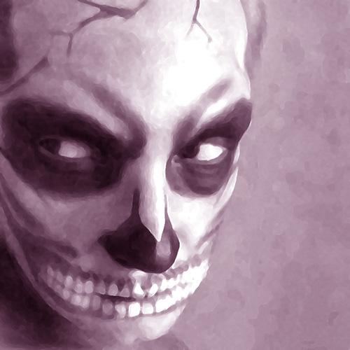 Макияж на Halloween/ Хэллоуин: скелет