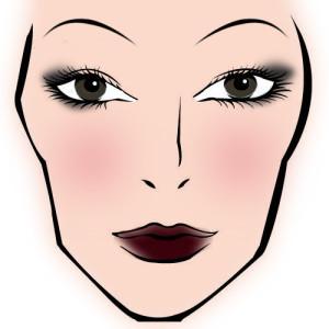 Ретроспективный макияж 20 век