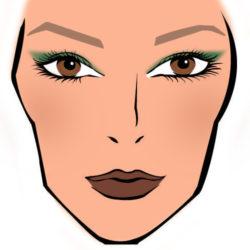 Дизайнерский макияж для новогодней вечеринки haute couture