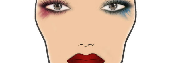 Макияж Harley Quinn (Харли Квинн)