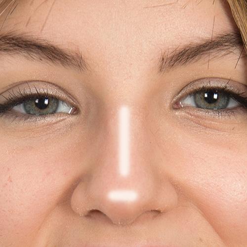 Нос картошкой: как можно исправить с помощью макияжа? | 500x500