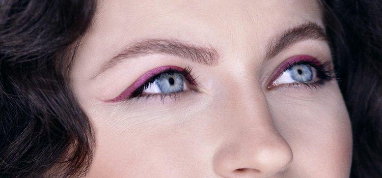 5 идей для макижа голубых глаз