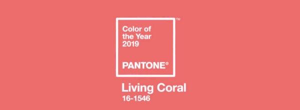 Макияж в модном цвете: Living Coral